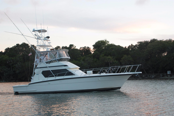 Used Hatteras Sportfish Convertible Sports Fishing Boat For Sale