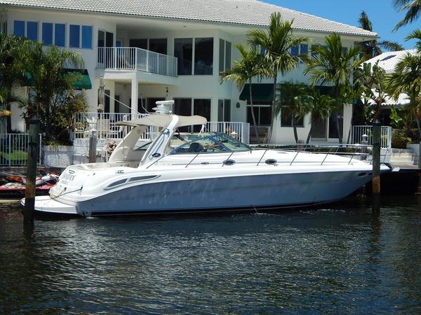 Used Sea Ray 410 Sundancer Cruiser Boat For Sale