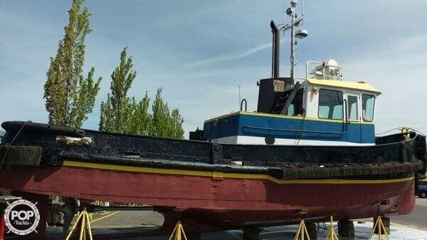 Used Custom 43 Tug Boat For Sale