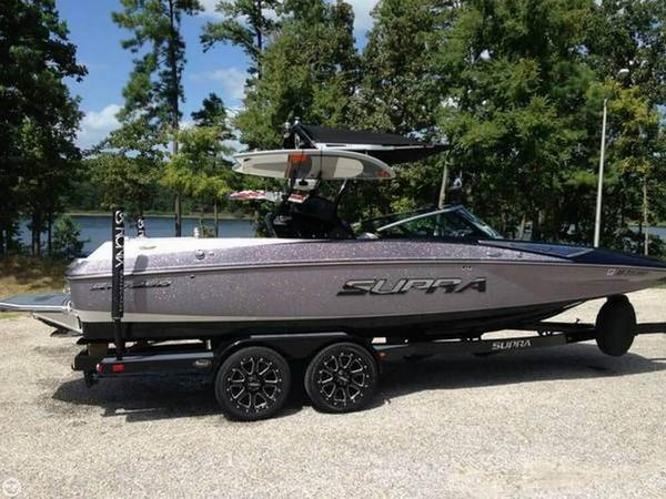 Used Supra Launch SA 350 Ski and Wakeboard Boat For Sale