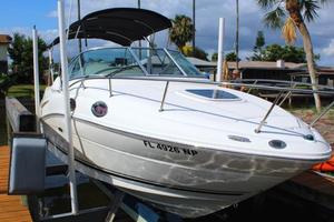 Used Sea Ray 240 Sundancer Cuddy Cabin Boat For Sale
