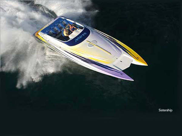 Used Mares Performance Power Catamaran Boat For Sale
