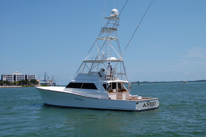 1982 used monterey convertible fishing boat for sale for Used fishing boats for sale in florida