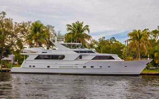 Used Burger Cockpit Motor Yacht Pilothouse Boat For Sale