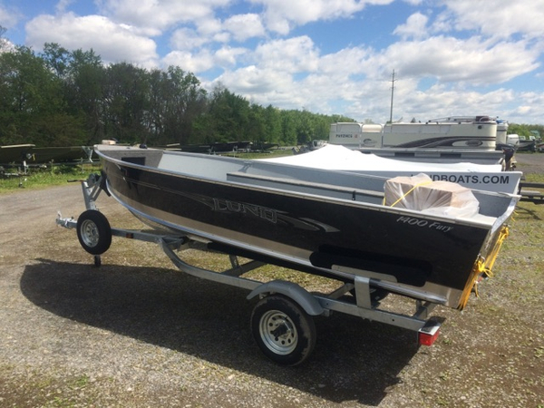 New Lund 1400 Fury Tiller Sports Fishing Boat For Sale