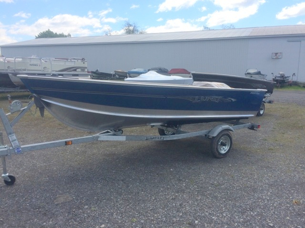 2016 new lund 1400 fury tiller sports fishing boat for for New fishing boats for sale