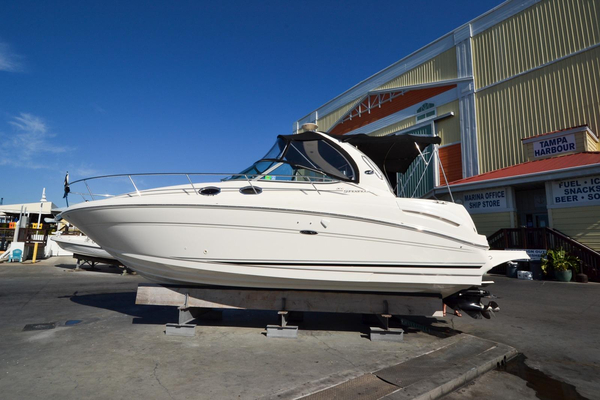 Used Sea Ray 300 Sundancer Cuddy Cabin Boat For Sale