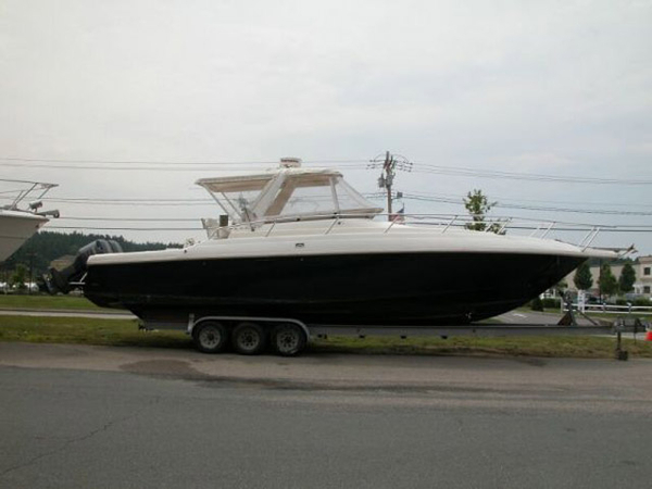 Used Intrepid 377 Walkaround Fishing Boat For Sale