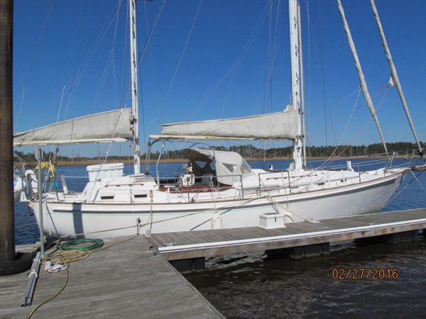 Used Whitby 42 Ketch Cruiser Sailboat For Sale
