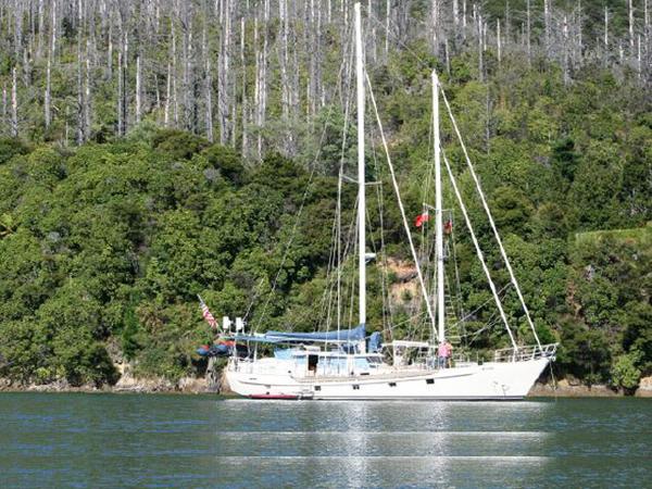 Used Custom Expedition Schooner Cruiser Sailboat For Sale