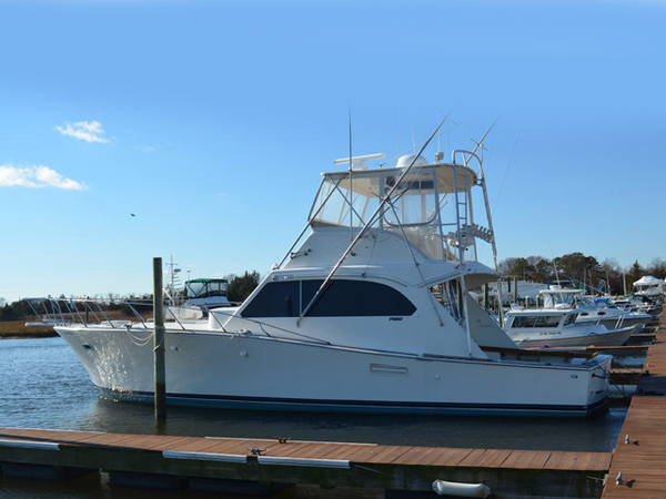 Used Post 46' Post Convertable Sports Fishing Boat For Sale