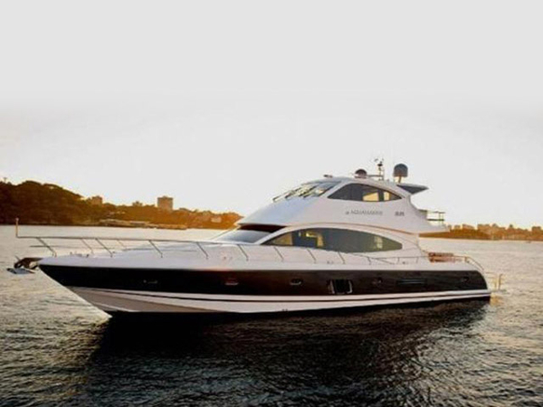 Used Aquamarine Sky Lounge Motor Yacht For Sale