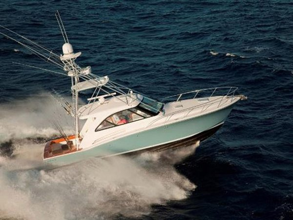 New Hatteras 45 Express Sports Fishing Boat For Sale