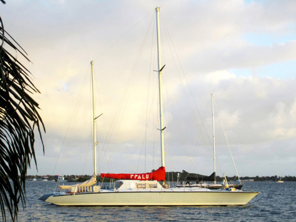 Used Custom Ketch Catamaran Cruiser Boat For Sale