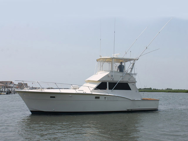 Used Hatteras 42 Convertible Sports Fishing Boat For Sale
