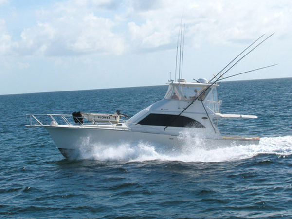 Used Ocean Yachts Modified V Sports Fishing Boat For Sale