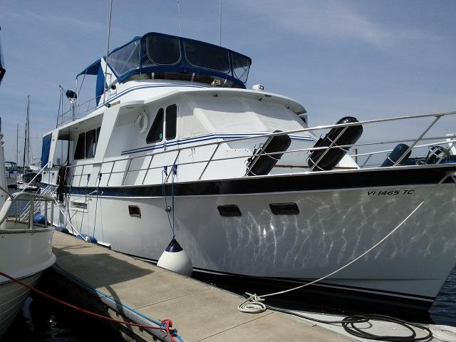 1988 used defever performance offshore cruiser aft cabin