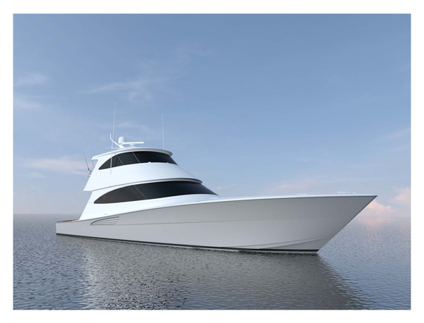 New Viking Enclosed Bridge Convertible Fishing Boat For Sale