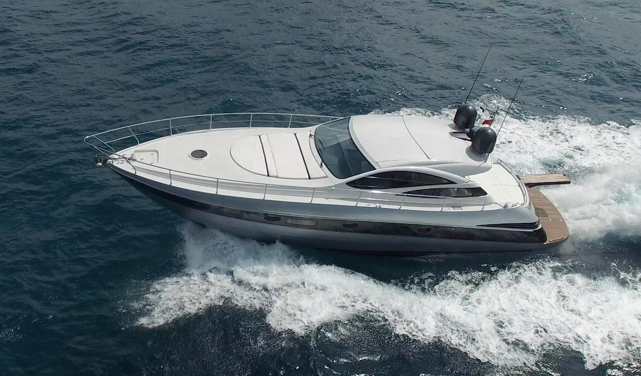 2005 used pershing 50 motor yacht for sale 499 000 for Motor yachts for sale in florida