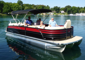 New Misty Harbor Boats SKYE 2385 Tritoon Pontoon Boat For Sale