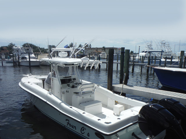 Used Dusky Custom 33 FC Center Console Fishing Boat For Sale
