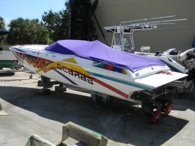 Used Scarab 31 Thunder High Performance Boat For Sale