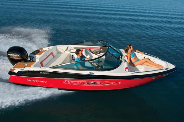 New Monterey 197 Blackfin Ski and Fish Boat For Sale