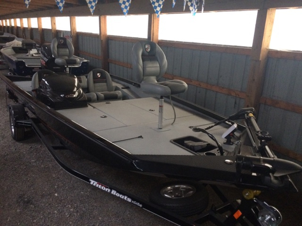 New Triton Boats 18 TX Bass Boat For Sale