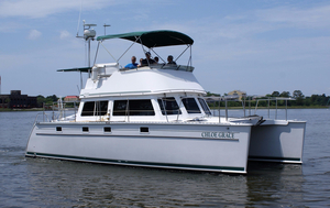 Used Pdq 34 Power Cat Cruiser Boat For Sale