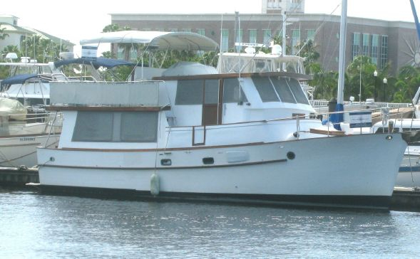 Used Bluewater Yachts Pilothouse Trawler Boat For Sale