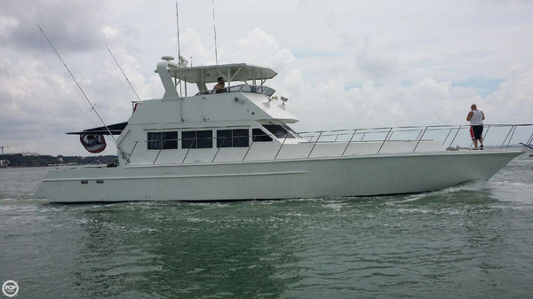Used Custom 60 Sports Fishing Boat For Sale