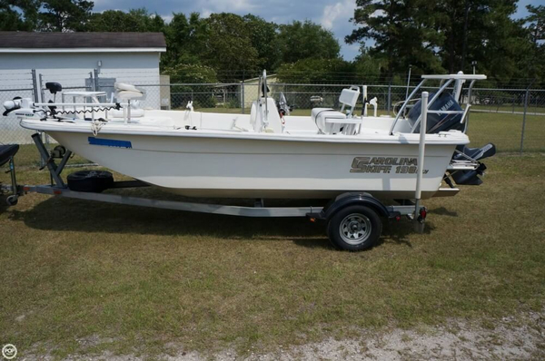 Used Carolina Skiff 198 DLV Bay Boat For Sale