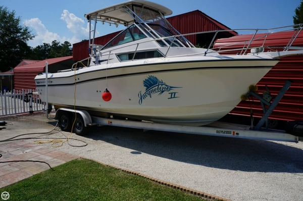 Used Grady-White 252 SportBridge Walkaround Fishing Boat For Sale