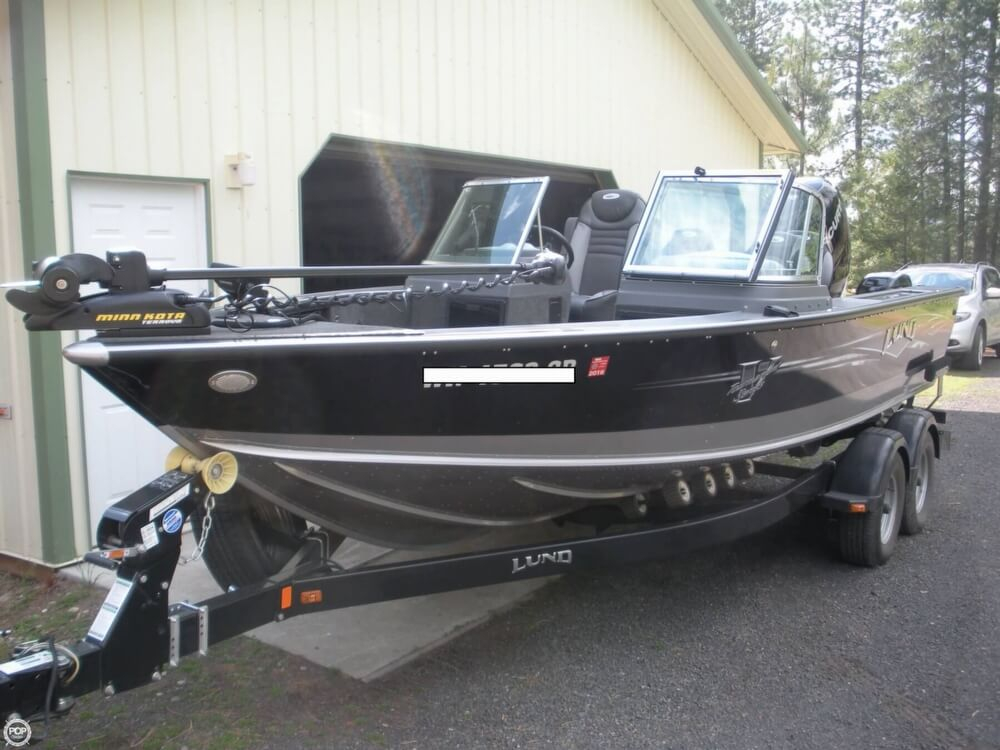 2014 used lund 2075 pro v aluminum fishing boat for sale
