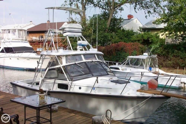 1988 Used Rampage 28 Sportsman Sports Fishing Boat For