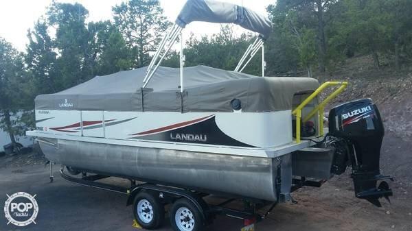 Used Landau Harbors 20 Cruise Pontoon Boat For Sale