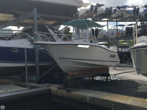 Used Quest 217 Open Fisherman Center Console Fishing Boat For Sale