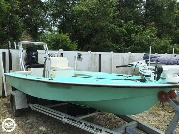 Used Dorado 17 Custom Flats Fishing Boat For Sale