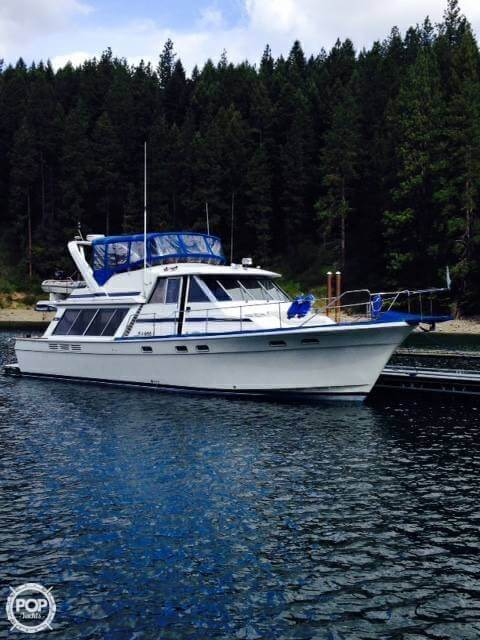 Used Bayliner 4550 Pilothouse Boat For Sale