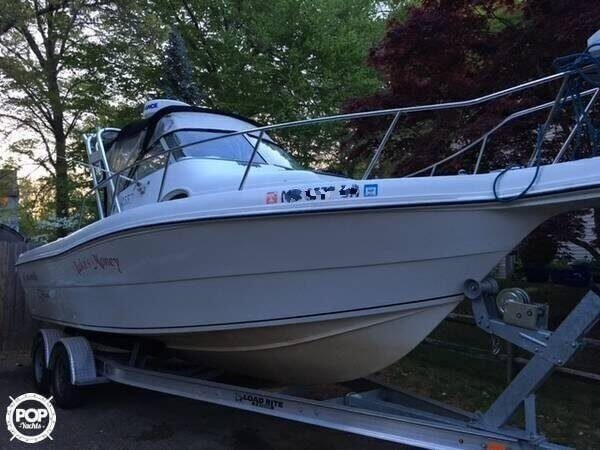 Used Caravelle 233 Offshore Walkaround Fishing Boat For Sale
