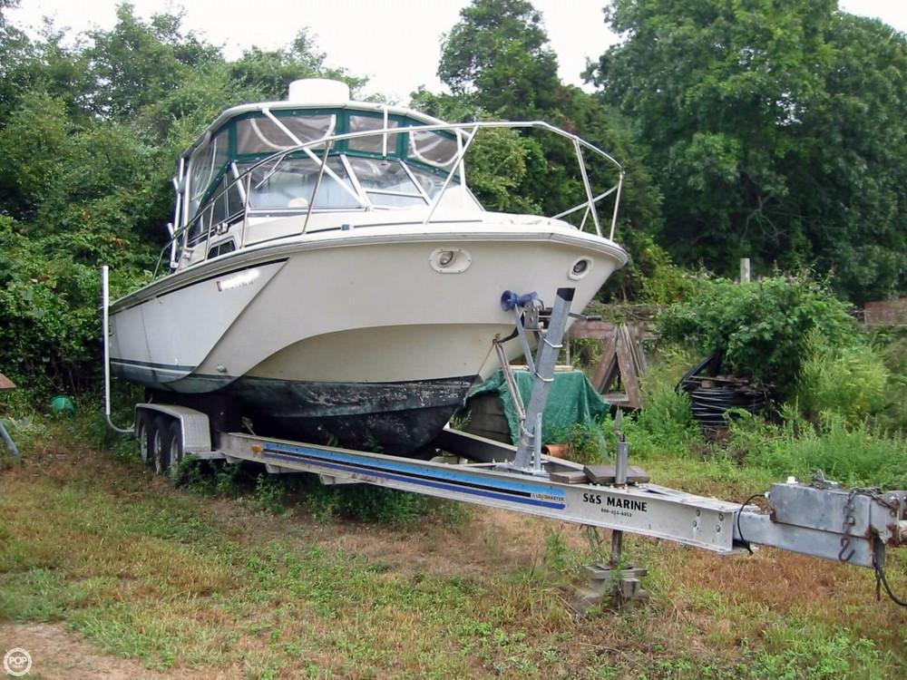 1985 Used Boston Whaler 270 Walkaround Fishing Boat For