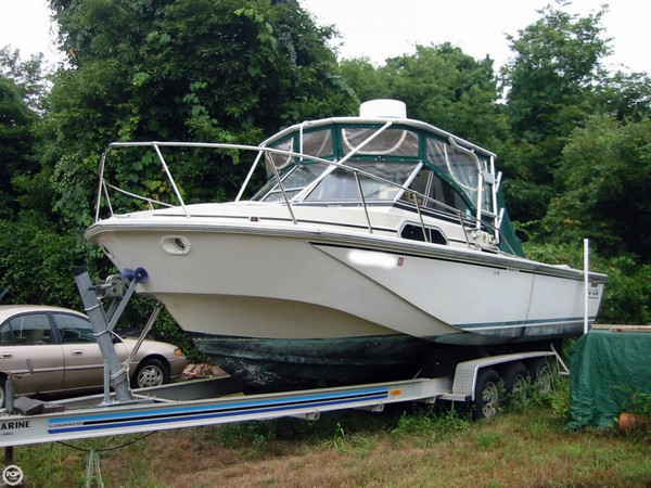 Used Boston Whaler 270 Walkaround Fishing Boat For Sale