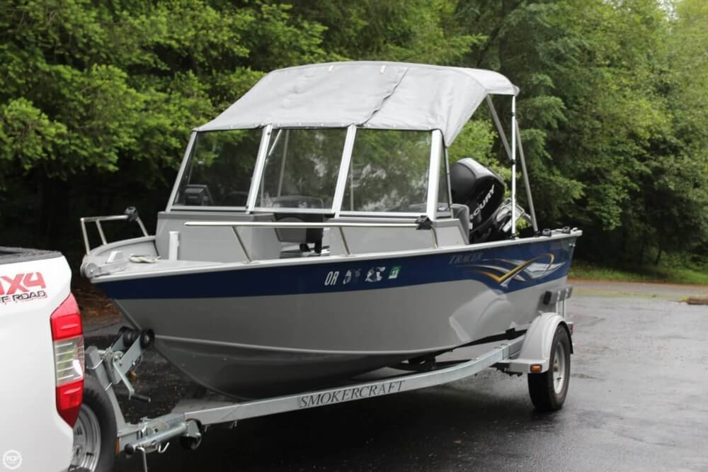 2010 used smoker craft 162 tracer aluminum fishing boat