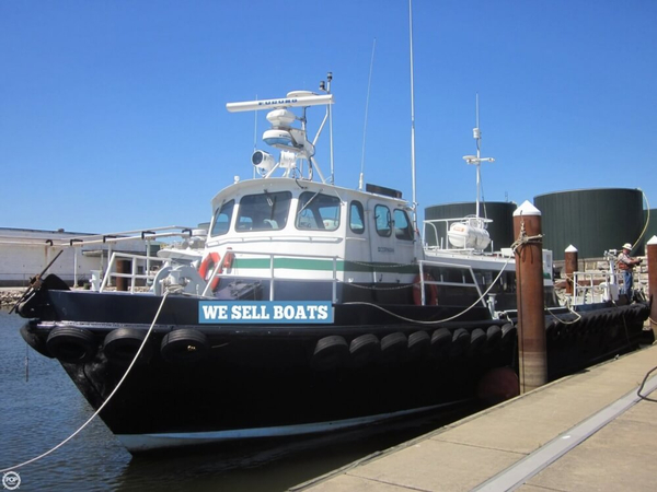 Used Stewart Seacraft 65 AL200 Crew Boat For Sale