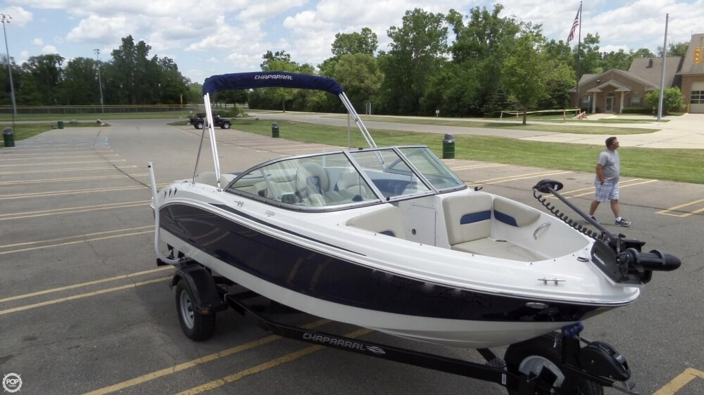 2014 used chaparral h20 fish ski bowrider boat for sale for Chaparral h20 19 ski and fish