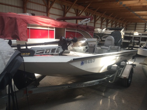 Used Triton Boats 186 MAGNUM Bass Boat For Sale