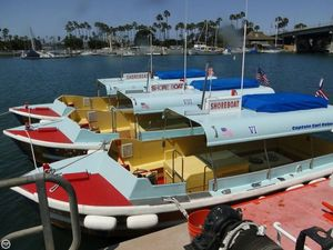 Used Seaway Boats Company Custom 26' Water Taxi Passenger Boat For Sale
