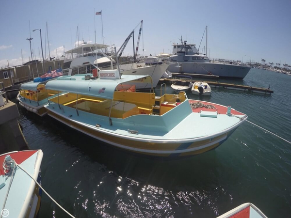Used Seaway Boats Company Custom 28' Water Taxi Passenger Boat For Sale