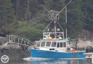 Used Willis Beal 40 Downeast Fishing Boat For Sale