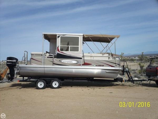 Used Voyager Extreme 22 Ski Pontoon Boat For Sale